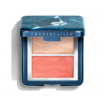 Chantecaille Radiance Chic Cheek and Highlighter Duo Coral