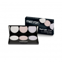 Mehron Highlight Pro 3 Shade Palette Cool