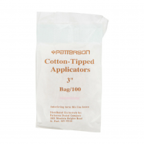 "Cotton Tail 3"" Absorbent Tip Applicators"