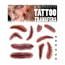 Mel Products Tattoo Transfers Cut Set