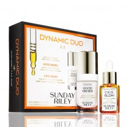 Sunday Riley Dynamic Duo Good Genes + C.E.O. Glow Kit
