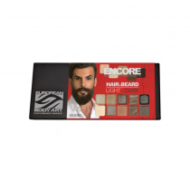 European Body Art Hair & Beard Palette Light-Dark