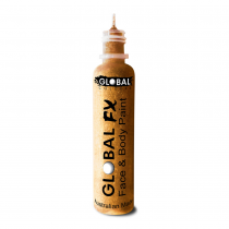 Glitter Gel Global FX Gold 1.2oz