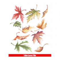 Hook Up Tattoos Fallen Leaves Filler