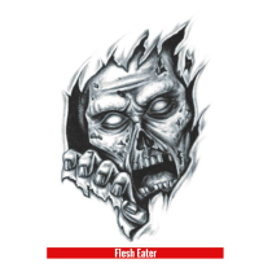 Hook Up Tattoos Flesh Eater