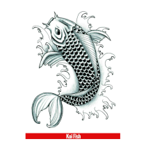 Hook Up Tattoos Koi Fish