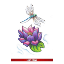 Hook Up Tattoos Lotus Flower