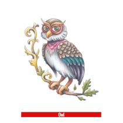 Hook Up Tattoos Owl