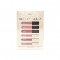 Jouer Best Of Nudes Deluxe Lip Creme and Gloss Set