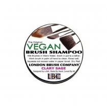 London Brush Shampoo Vegan Clary Sage 6oz