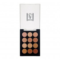 Make-Up Atelier 12 Color Contouring Palette Open