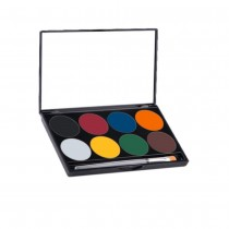 Mehron Paradise Makeup AQ 8-Color Palette Basic