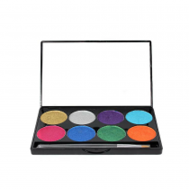 Mehron Paradise Makeup AQ 8-Color Palette Brilliant