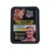 Monster Makers Monster Clay Brown Medium