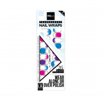 NCLA Nail Wraps Jagged Edge
