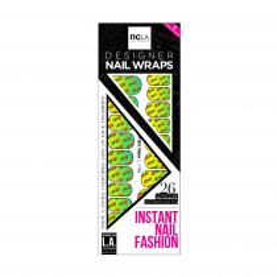 NCLA Nail Wraps Pina Colada