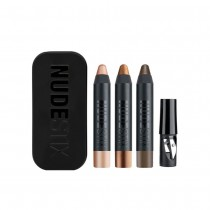 Nudestix Metallic 3 Piece Mini Eye Set