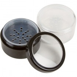 Qosmedix Black Jar W/Shaker All