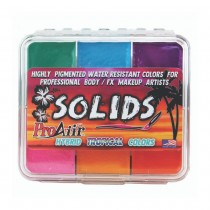 ProAiir Solids Hybrid Water Resistant Tropical Makeup Palette