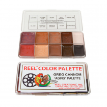 Reel Color Makeup Palettes Greg Cannom Aging