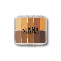 Senna Slipcover Palette Medium to Dark Mini