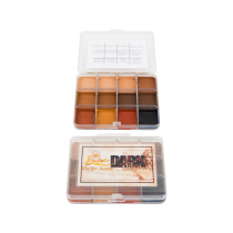 Skin Illustrator On Set Palette Dark Flesh Tone