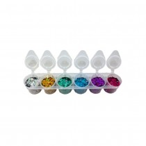 Superstar Laser Chunky Glitter Mix 6-Pack