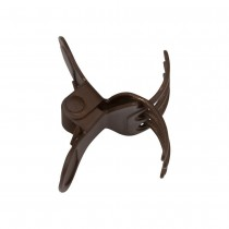 Take Two Products Clip-Ease Butterfly Clips Matte Brown 12ct. Large Single