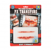 Tinsley FX Transfers Cut Throat