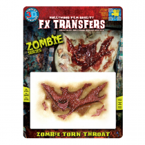 Tinsley FX Transfers Zombie Torn Throat
