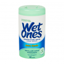 Wet Ones Hand Wipes 40ct Fragrance & Alcohol Free