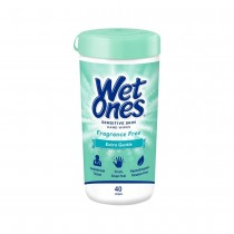 Wet Ones Hand Wipes 40ct Fragrance Free
