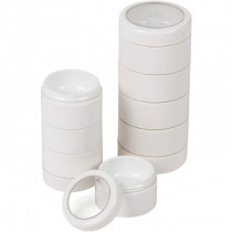 Empty White Stackable