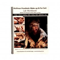 Brick In The Yard Wolfman Prosthetic Make-Up & Fur Suit Lab Workbook