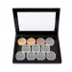 Z Palette Medium Z Palette Travel Jars 6 Pack In Dome Palette
