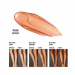 Gleam Body Radiance Rose Gold Leg Chart