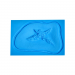 P.T.M. 4pt Starfish Pattern Bullet Hole Exit Wound Mold