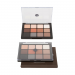 Viseart Eyeshadow Palettes 01 Matte open