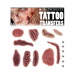 Mel Products Tattoo Transfers Wound Set