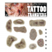 Mel Products Tattoo Transfers Zombie Set