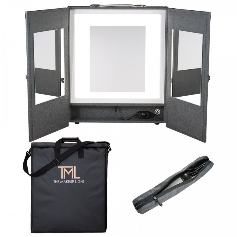 The Makeup Light Portable Vanity Graphite Frends Beauty Supply