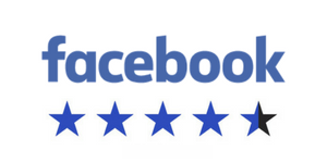 4 and half stars on facebook